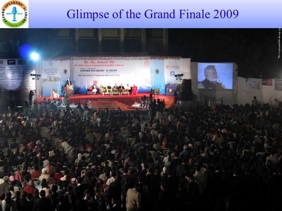 Glimpse of the Grand Finale 2009