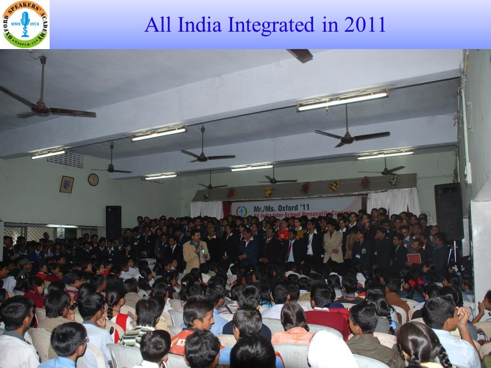 All India Integrated in 2011