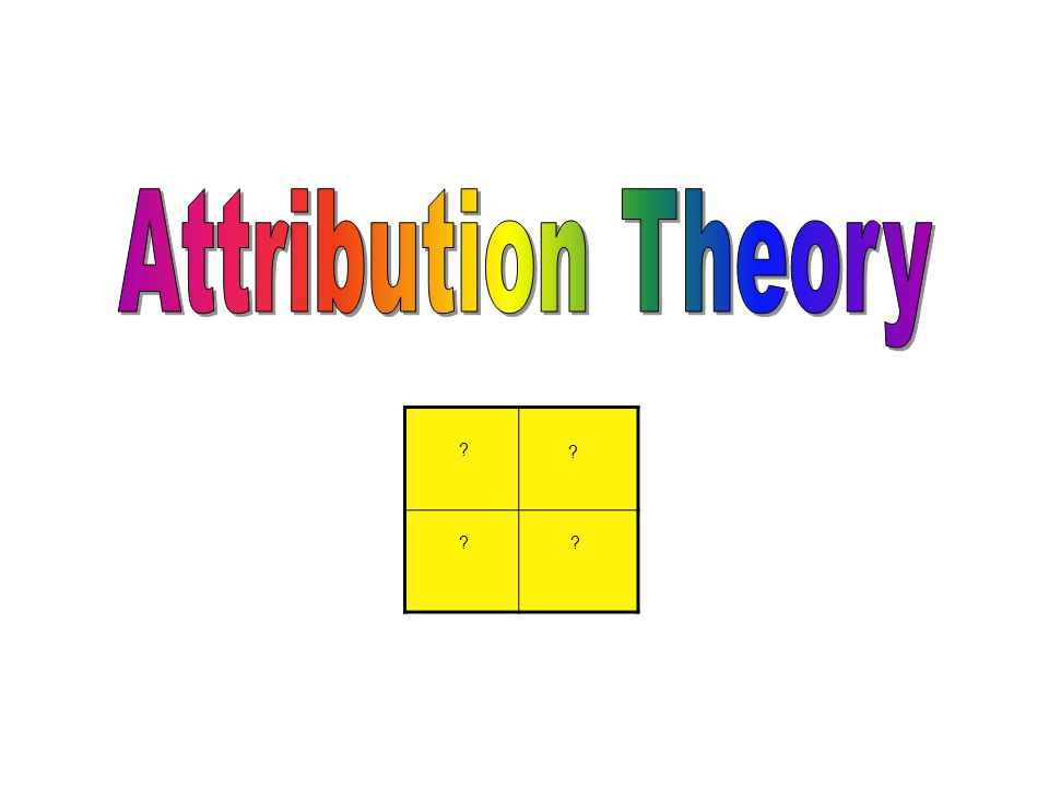 attribution theory essays attribution theory and motivation jones bartlett