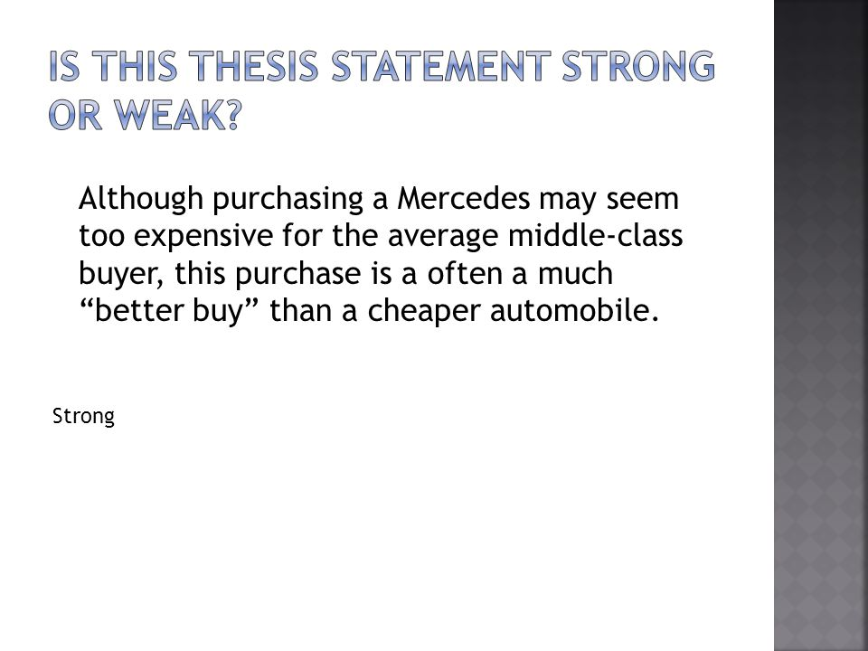 Although purchasing a Mercedes may seem too expensive for the average middle-class buyer, this purchase is a often a much better buy than a cheaper au