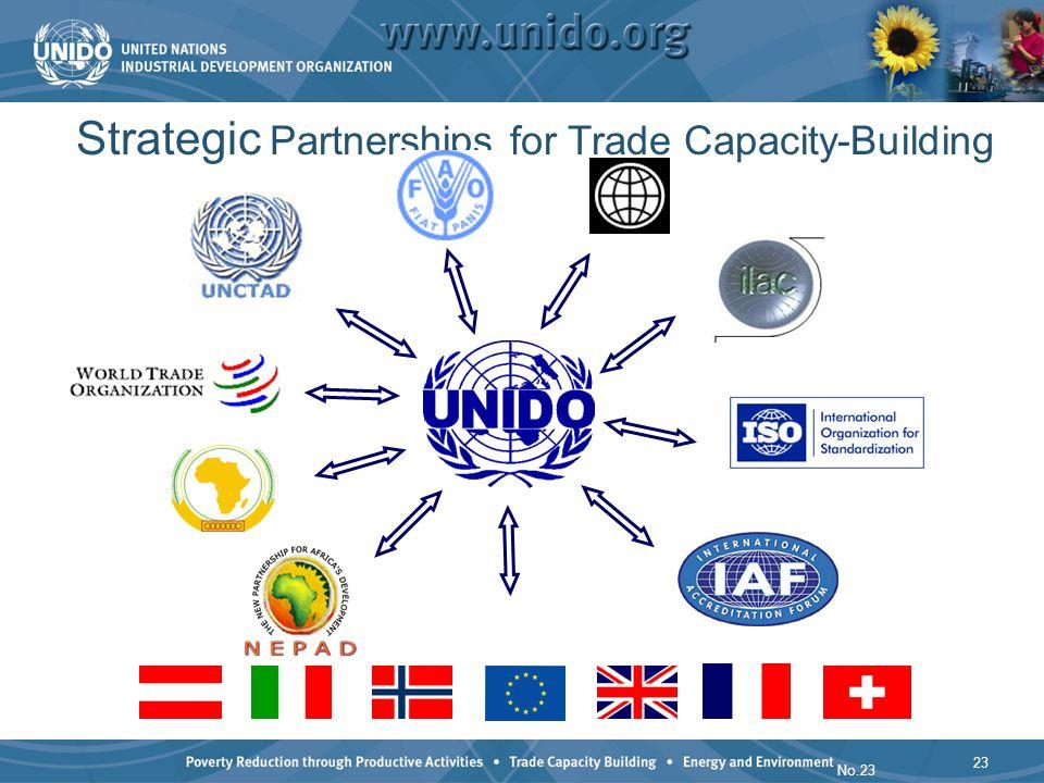23 No.23 Strategic Partnerships for Trade Capacity-Building