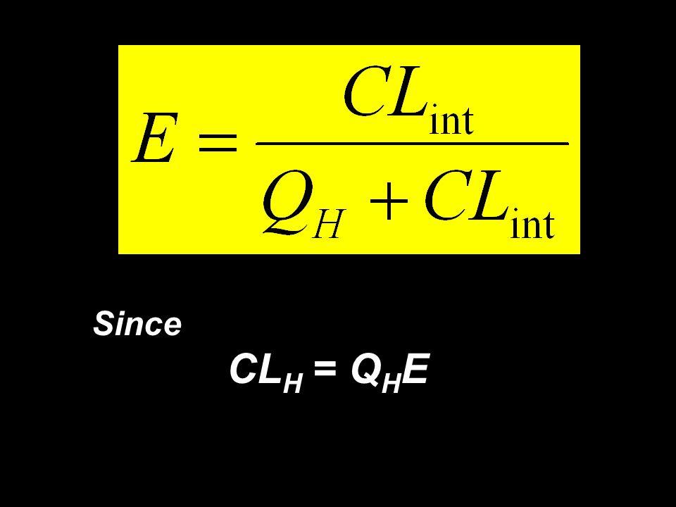 11 Since CL H = Q H E