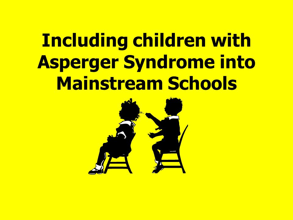 Including children with Asperger Syndrome into Mainstream Schools