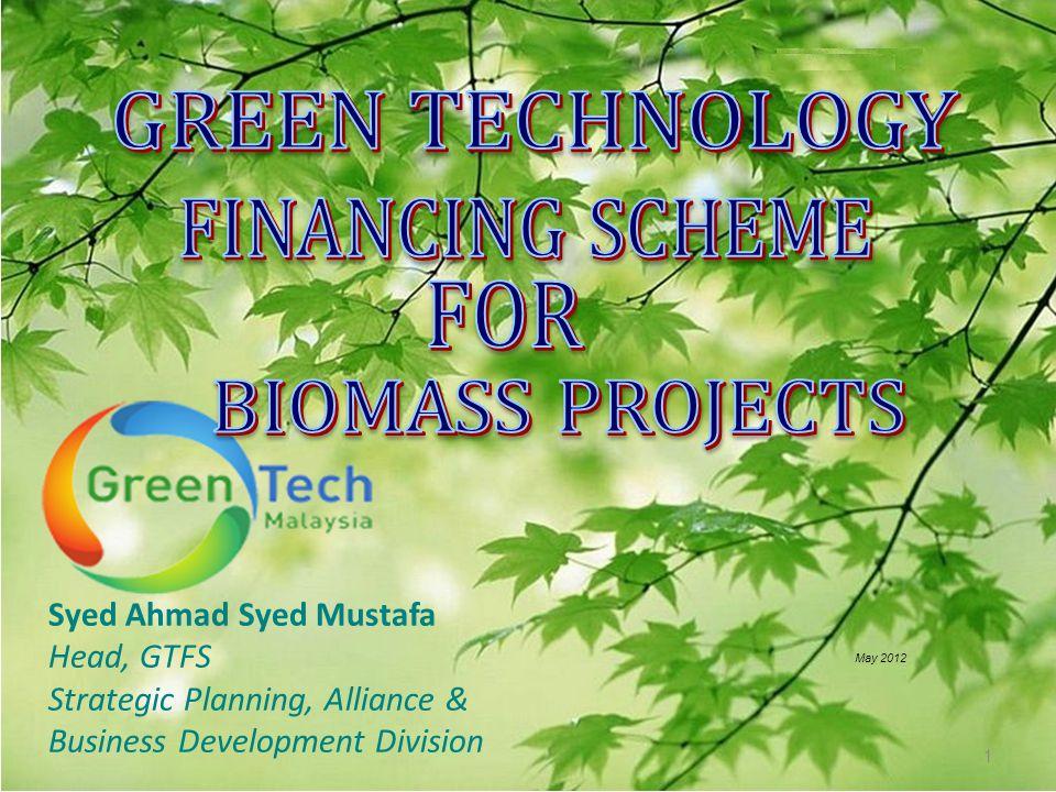 Syed Ahmad Syed Mustafa Head, GTFS Strategic Planning, Alliance & Business Development Division May 2012 1