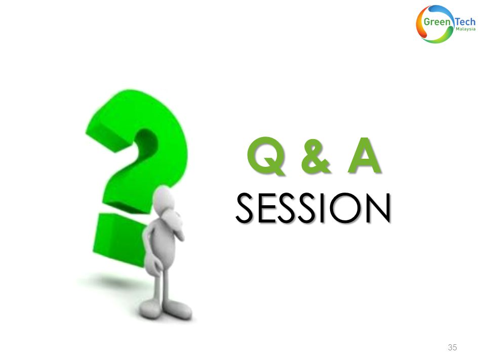 Q & A SESSION 35