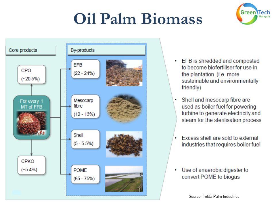 Oil Palm Biomass Source: Felda Palm Industries