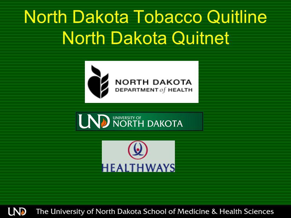 North Dakota Tobacco Quitline North Dakota Quitnet