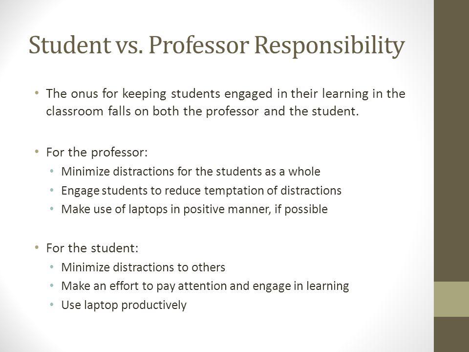 Student vs.