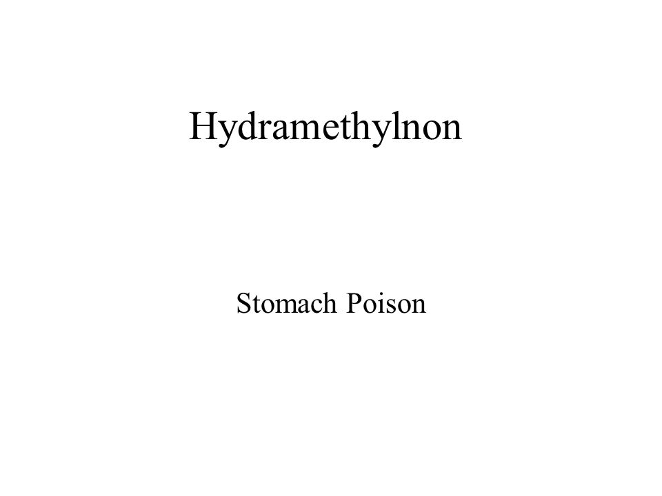 Hydramethylnon Stomach Poison