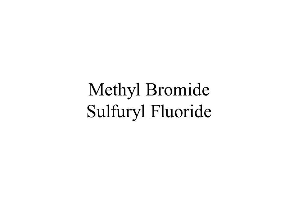 Methyl Bromide Sulfuryl Fluoride
