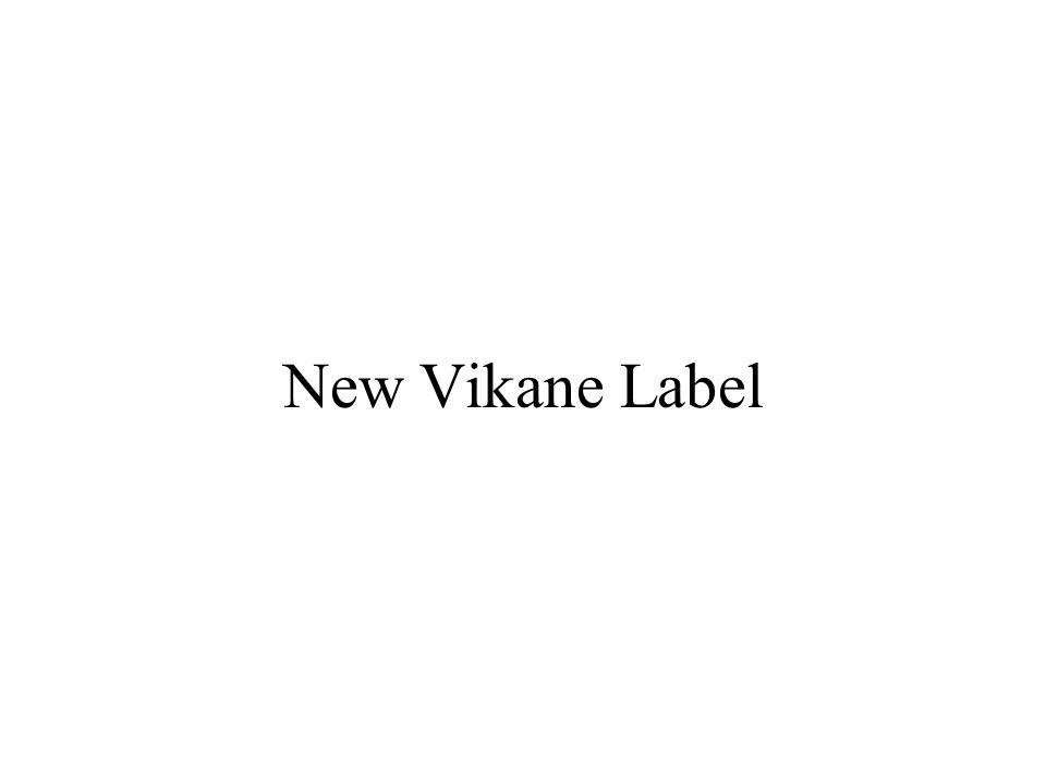 New Vikane Label