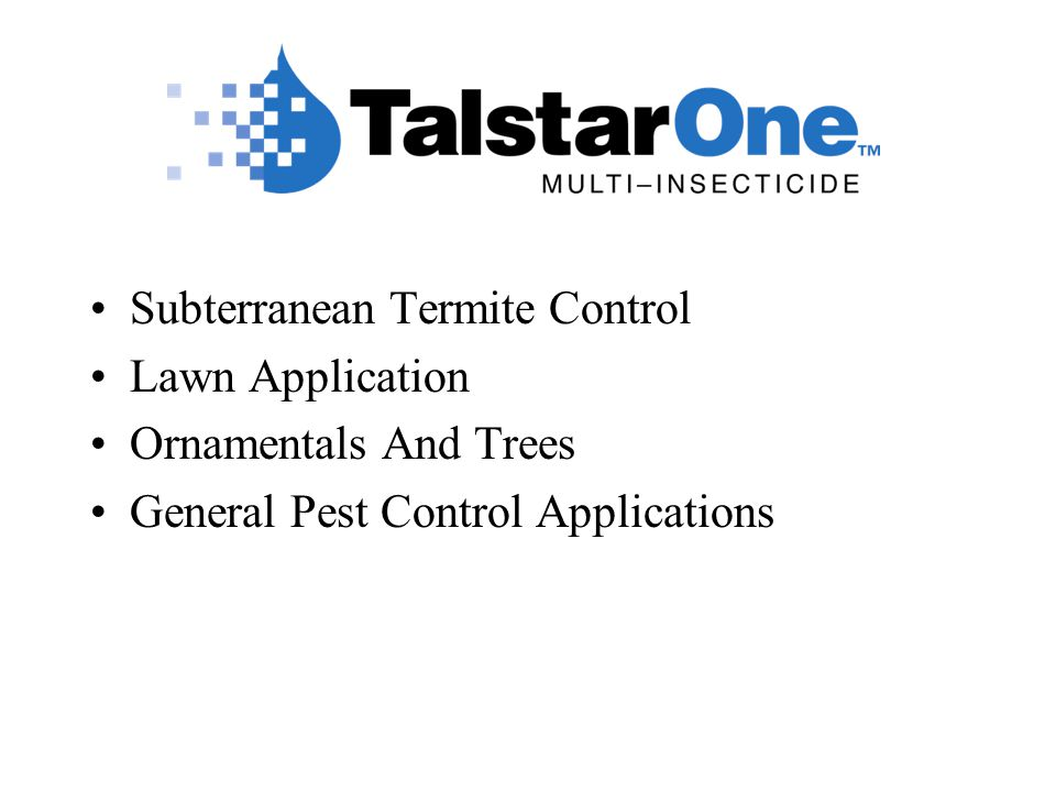 Subterranean Termite Control Lawn Application Ornamentals And Trees General Pest Control Applications