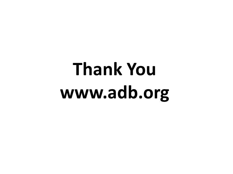 Thank You www.adb.org