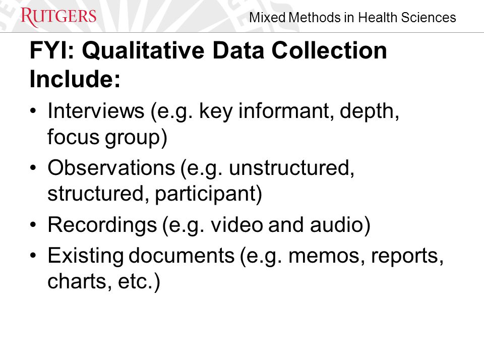 Mixed Methods in Health Sciences HSR Theme Issue Includes Diverse Content.