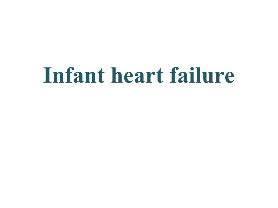 Infant heart failure