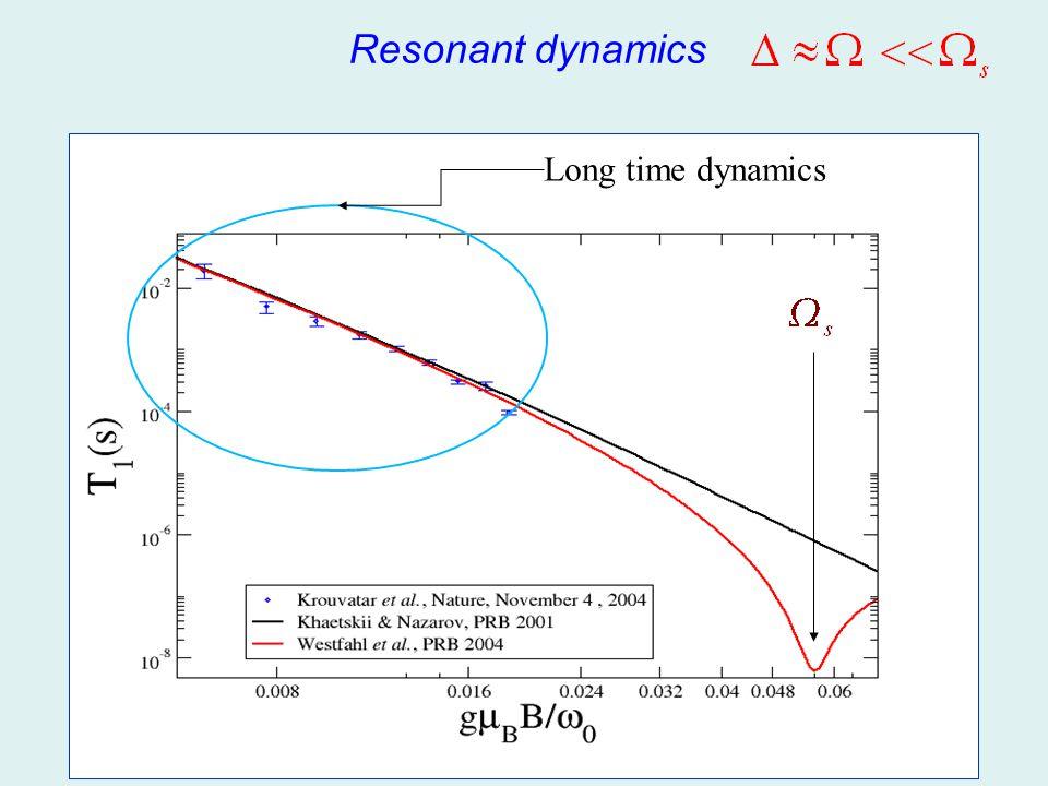 Resonant dynamics