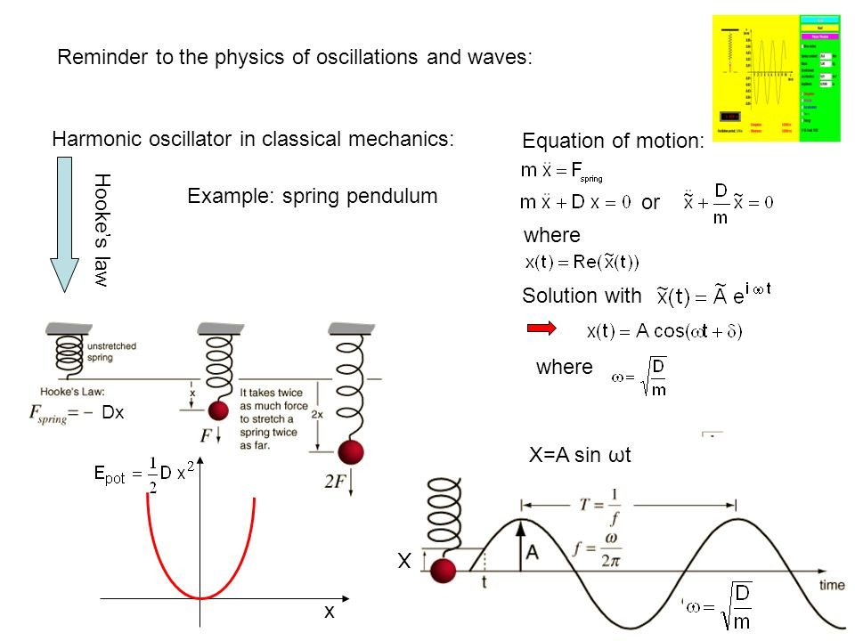 Lattice Dynamics Physical properties of solids determined by electronic structure related to movement of atoms about their equilibrium positions Sound