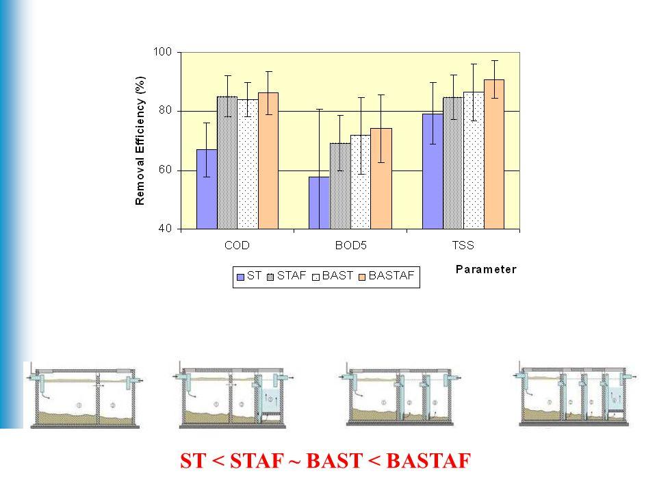 11 ST < STAF ~ BAST < BASTAF