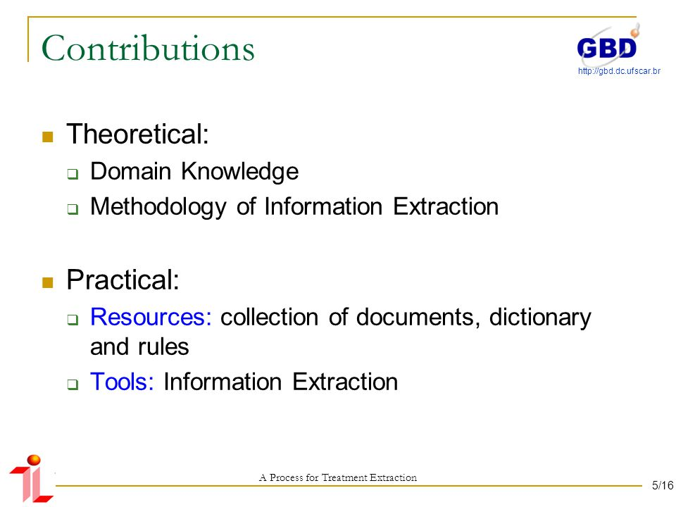 A Process Based on Paragraph for Treatment Extraction in Scientific Papers of the Biomedical Domain Questions.