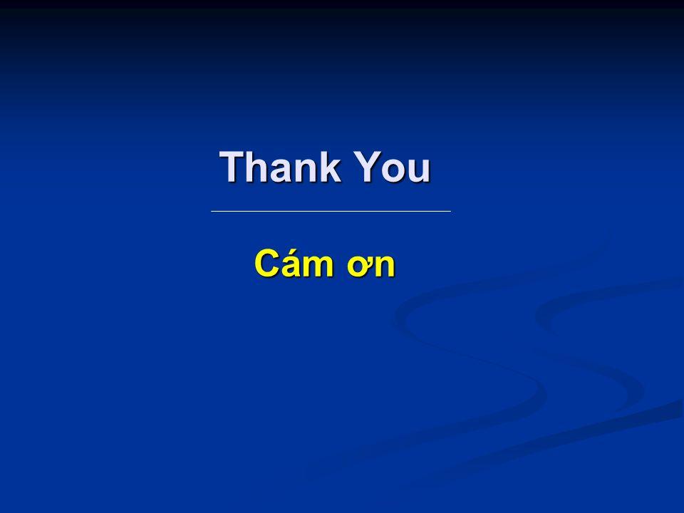 Thank You Cám ơn
