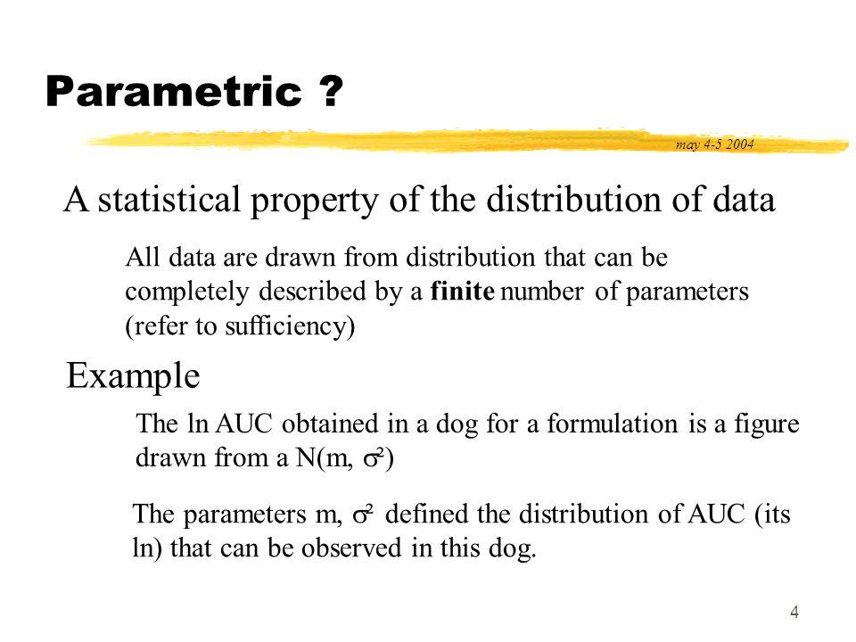 5 Non parametric .