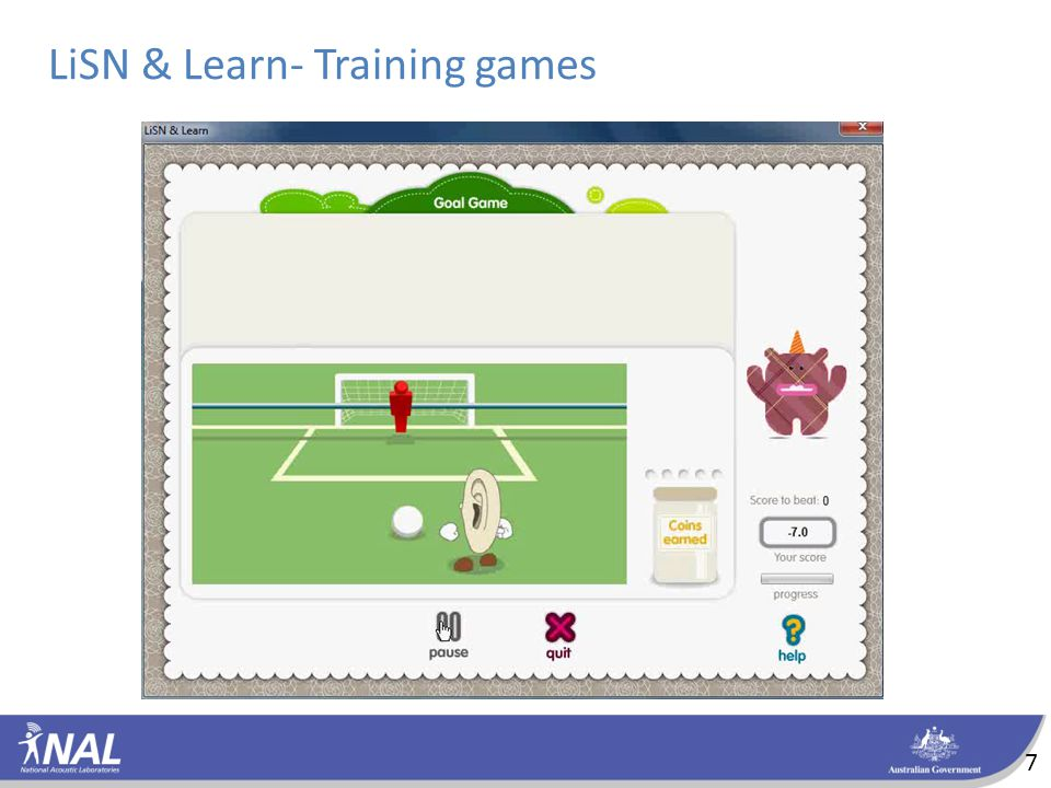 LiSN & Learn- Training games 7