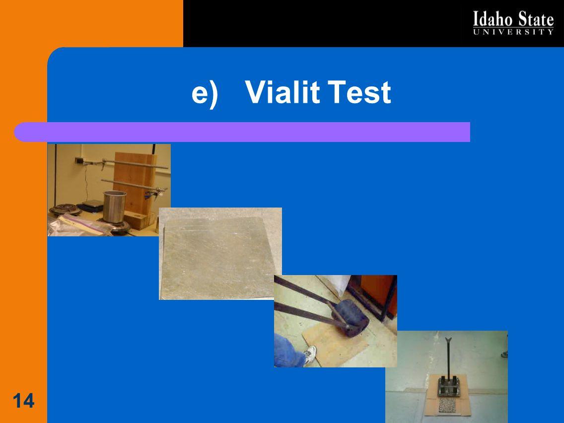 e) Vialit Test 14