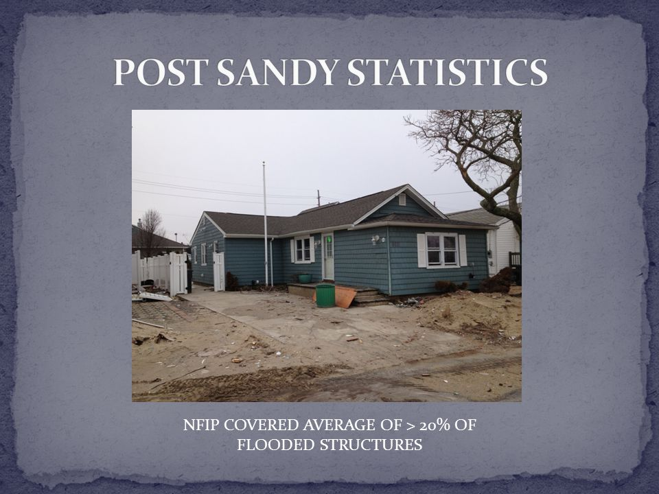 NFIP COVERED AVERAGE OF > 20% OF FLOODED STRUCTURES