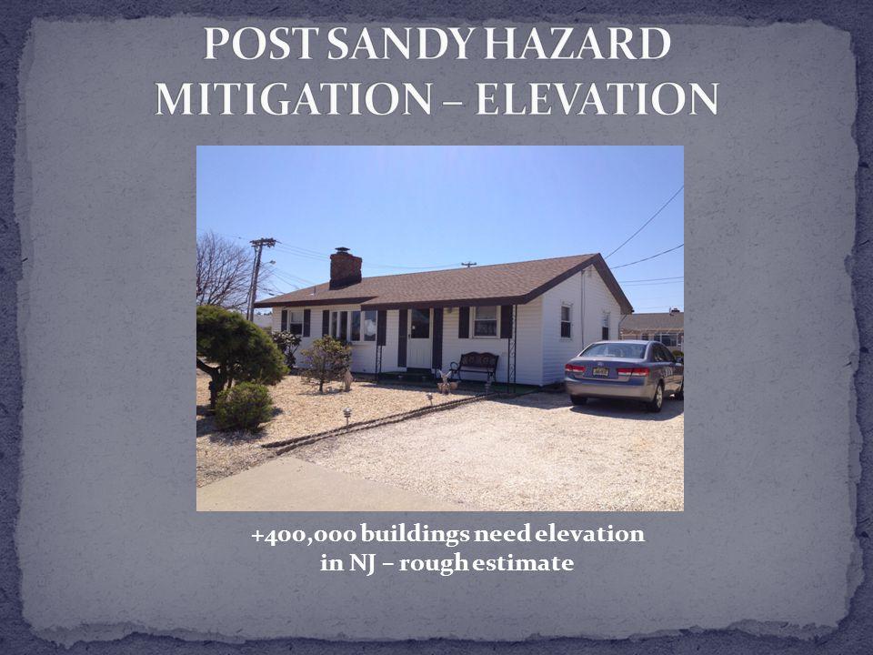 +400,000 buildings need elevation in NJ – rough estimate