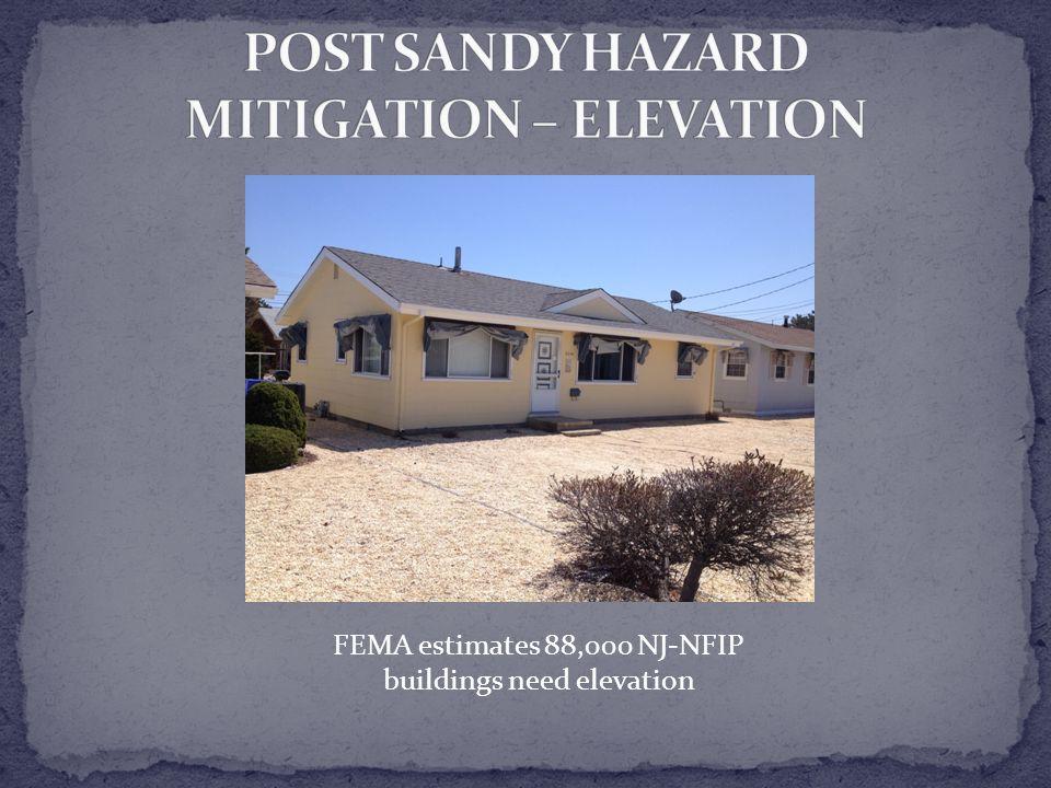 FEMA estimates 88,000 NJ-NFIP buildings need elevation
