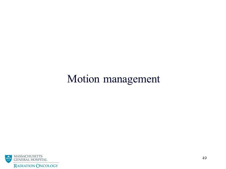 49 Motion management