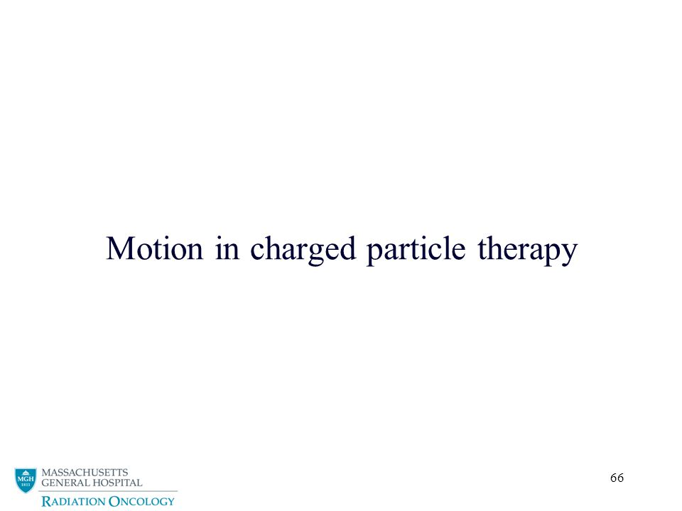 66 Motion in charged particle therapy