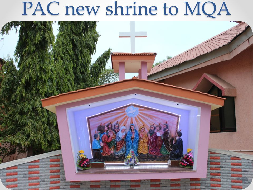 PAC new shrine to MQA