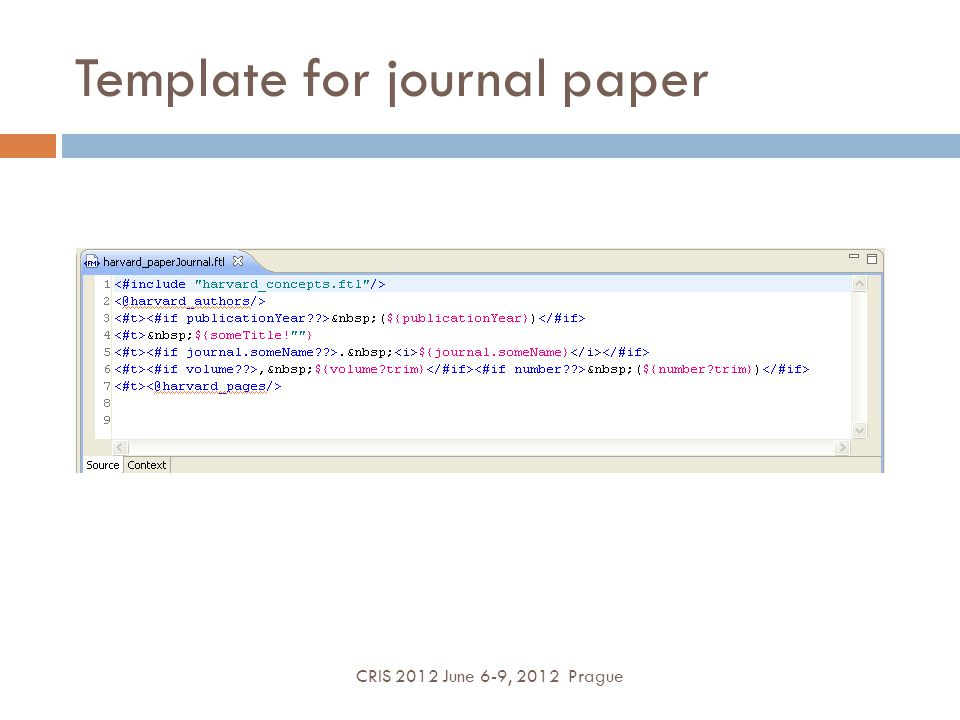 Template for journal paper CRIS 2012 June 6-9, 2012 Prague