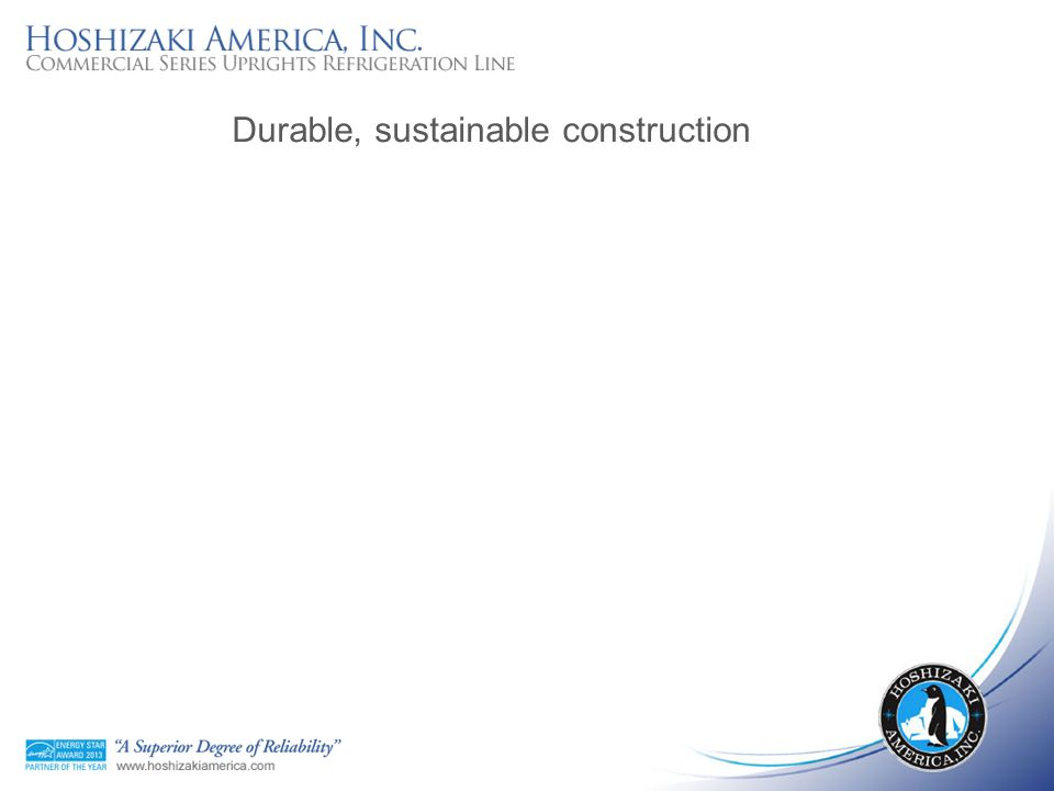 Durable, sustainable construction