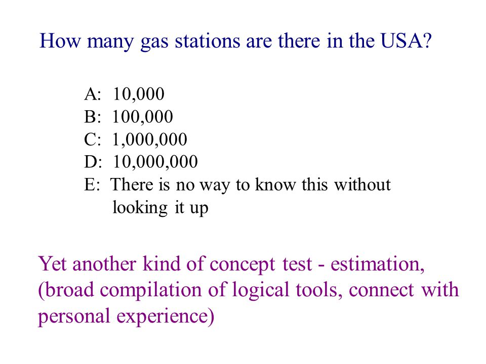 estimation How many gas stations are there in the USA.