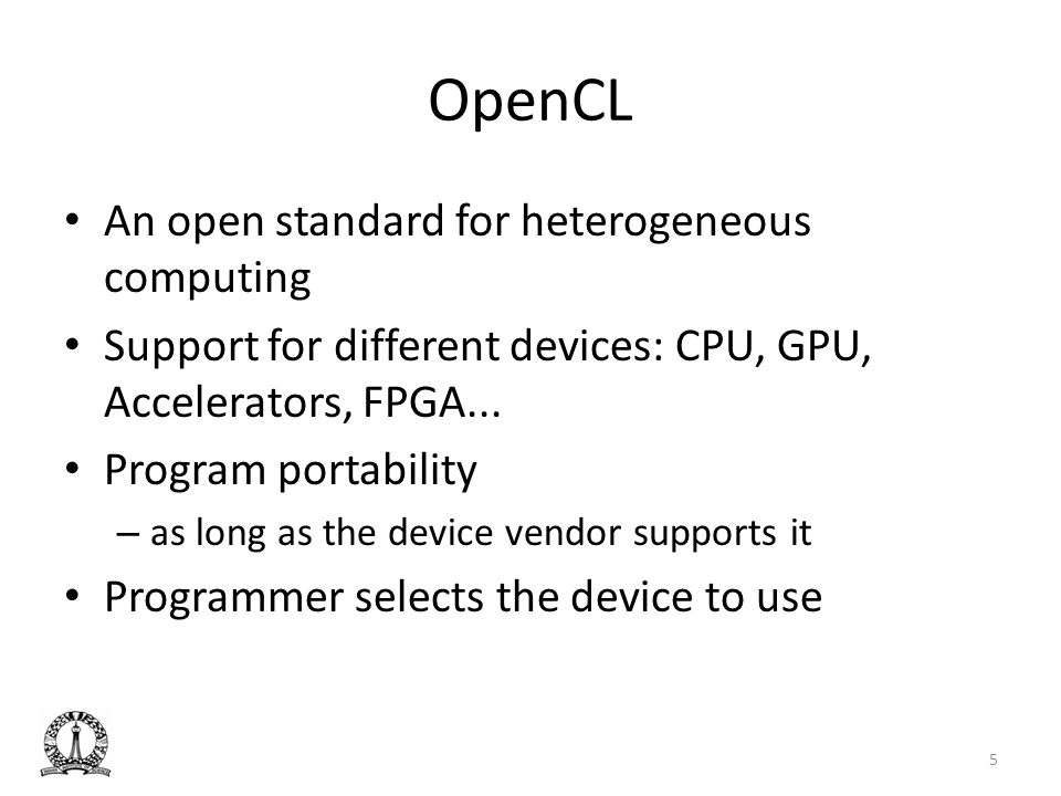 Related Work Achieving a single compute device image in opencl for multiple gpus, Kim et al.