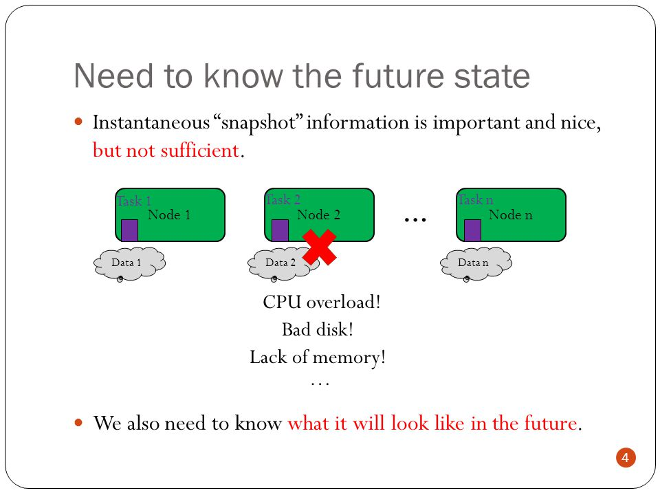 Predicting the future in these systems is difficult or impossible.