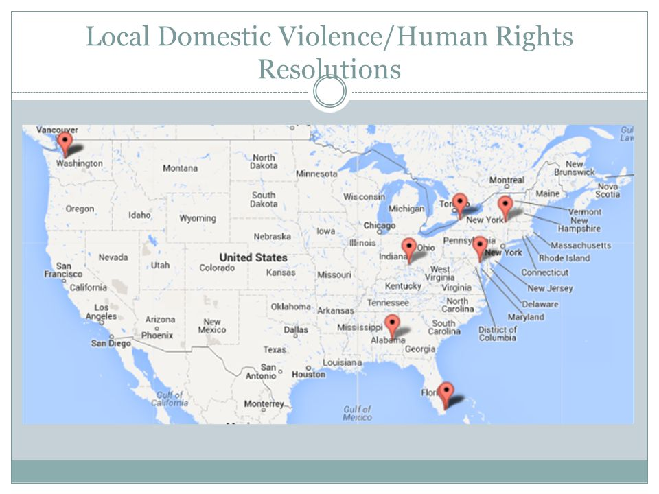 Local Domestic Violence/Human Rights Resolutions
