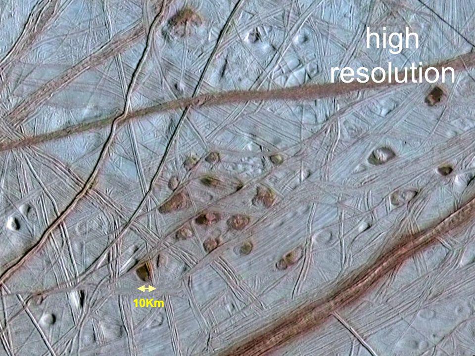 Biosignatures on Exoplanets Workshop – Mulhouse, France. June 25 2009 MSSL/UCL UK 10Km high resolution
