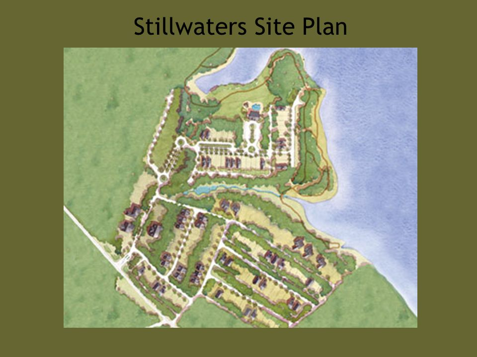 Stillwaters Site Plan