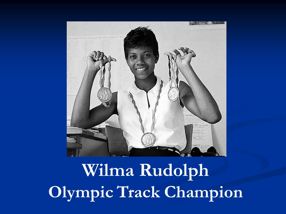 Wilma Rudolph Olympic Track Champion