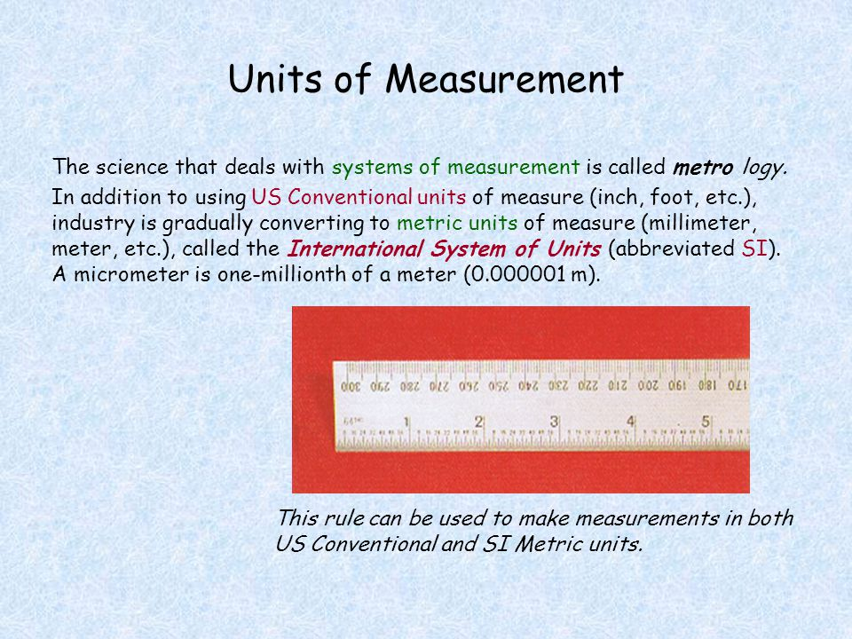 Vernier Measuring Tools Vernier calipers can be used to make both internal and external measurements.
