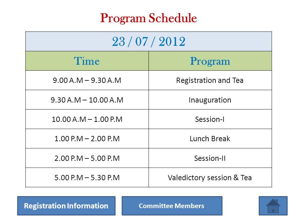 Venue & Date Seminar Hall Narula Institute of Technology 81, Nilgunj Road, Agarpara, Kolkata-700109 23 rd July 2012 From 9.00 A.M.