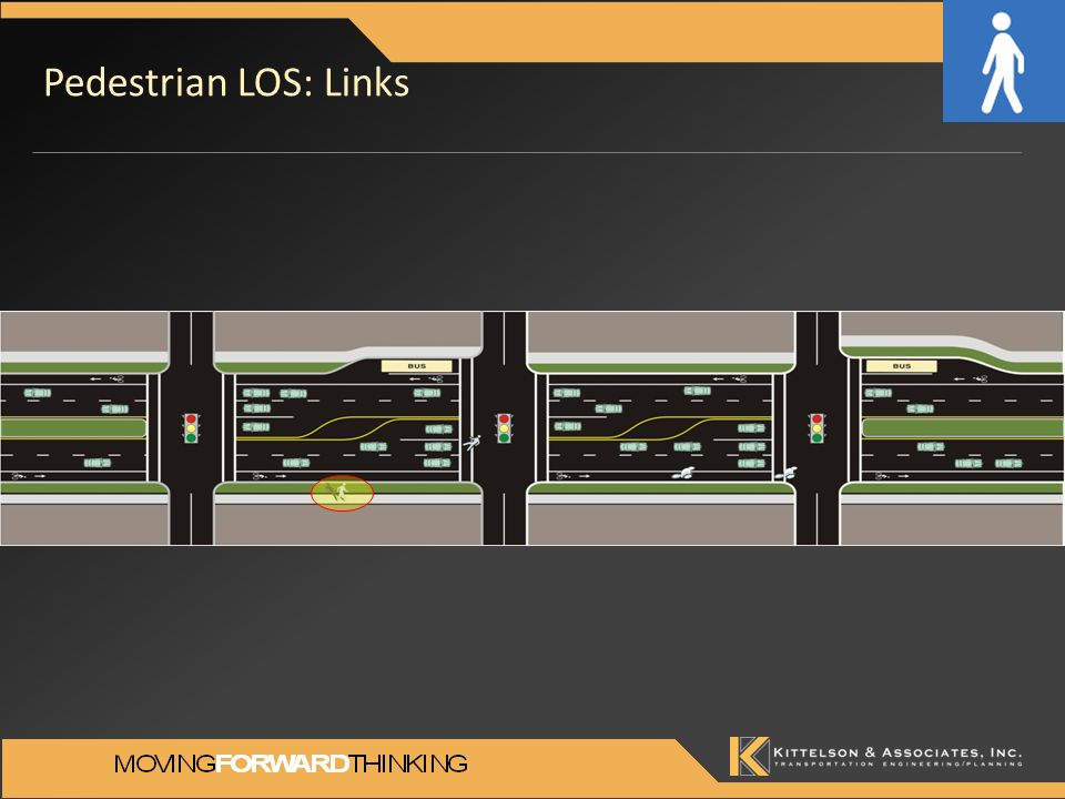 Pedestrian LOS: Links
