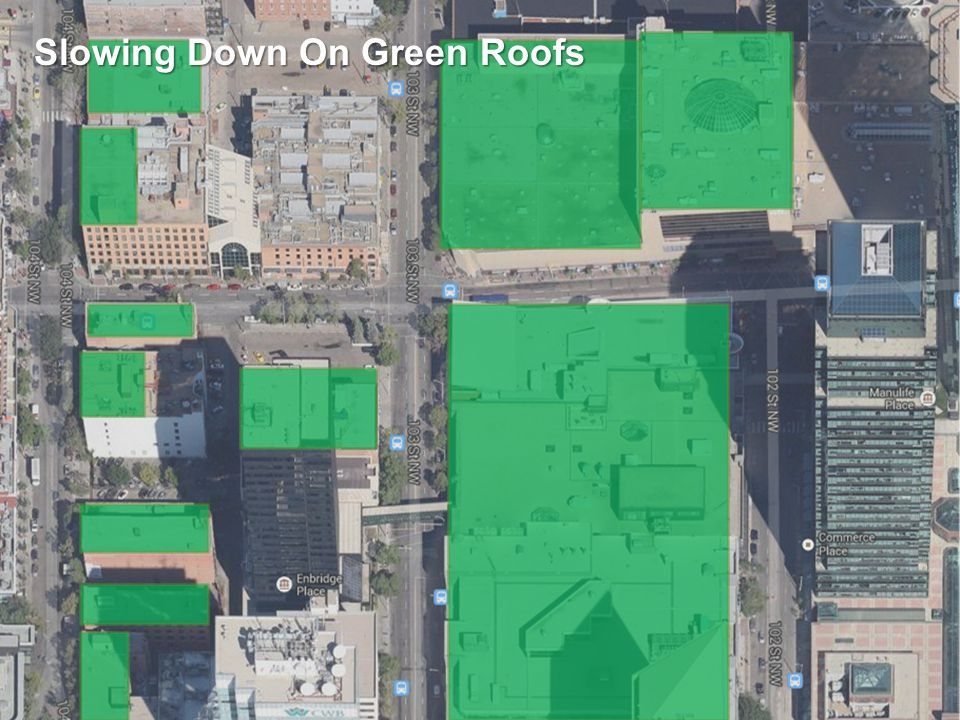 Engage. Innovate. Inspire. Slowing Down On Green Roofs