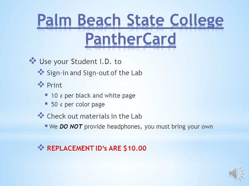 No Card No Entry Your PantherCard must be able to be read by the card reader when swiped to Enter No Ifs, ands, buts, or Excuses