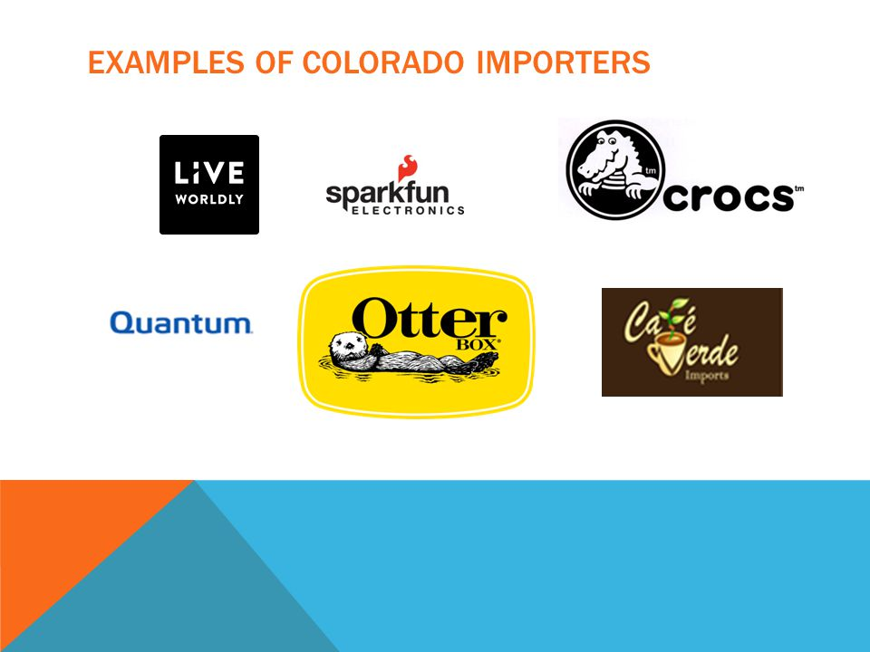 EXAMPLES OF COLORADO IMPORTERS