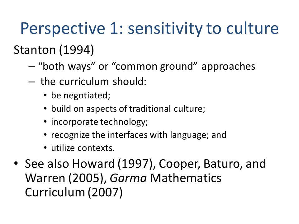 Perspective 2: Good teaching is good teaching everywhere Frigo, et al.