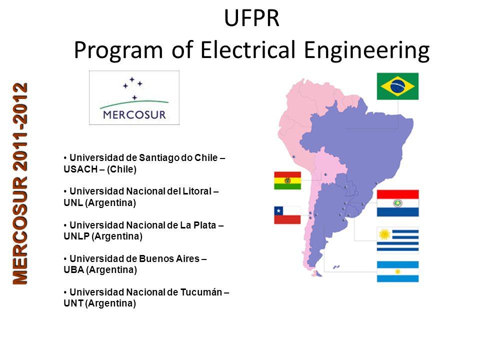 MERCOSUR 2011-2012 Universidad de Santiago do Chile – USACH – (Chile) Universidad Nacional del Litoral – UNL (Argentina) Universidad Nacional de La Pl